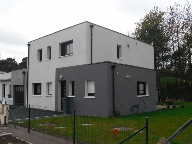 Maison toit plat - Maisons Design et Traditions
