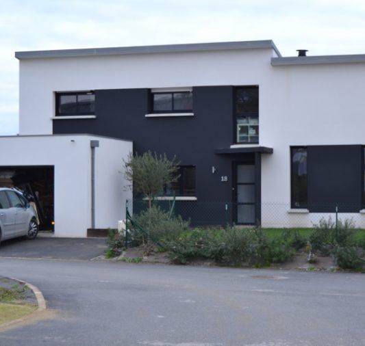 Maison d'architecture moderne