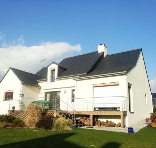 Construction d'une maison neuve à Surzur - 56450