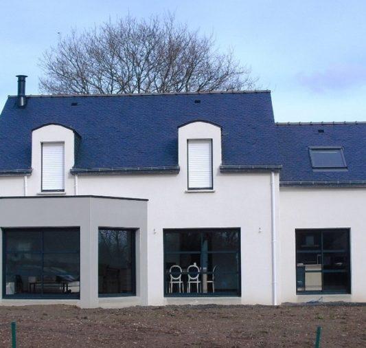 Maison neuve construite à Plumergat - 56400