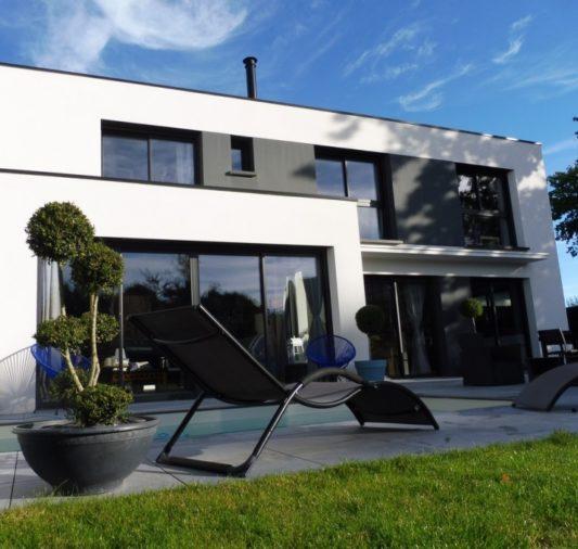 maison avec piscine sur Vannes