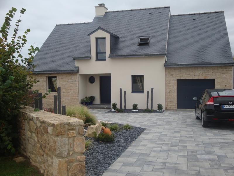 Maison façade pierre - Maisons Design et Traditions