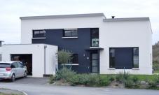 photos de construction de maisons en Morbihan
