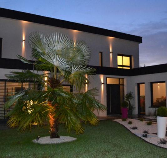 Construction d'une maison avec piscine sur Vannes