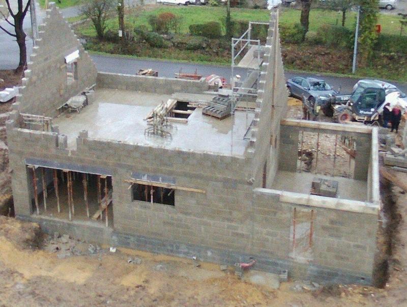 photo chantier construction marzan