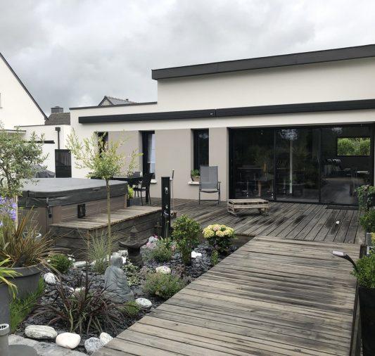 maison jardin zen