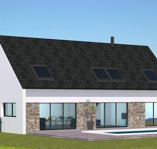 avant projet maison piscine