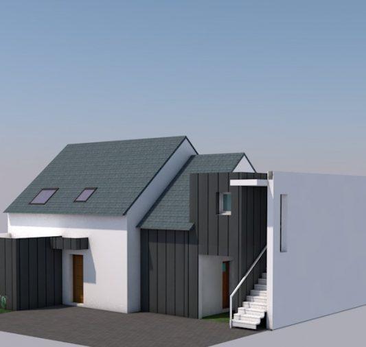 Extension maison neuve